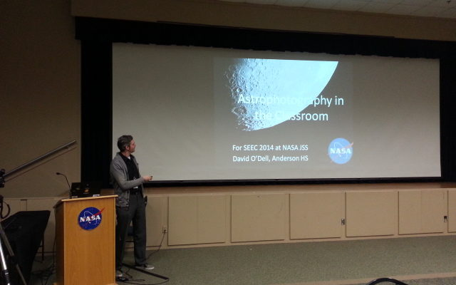 NASA Presentation – Astrophotography in the Classroom