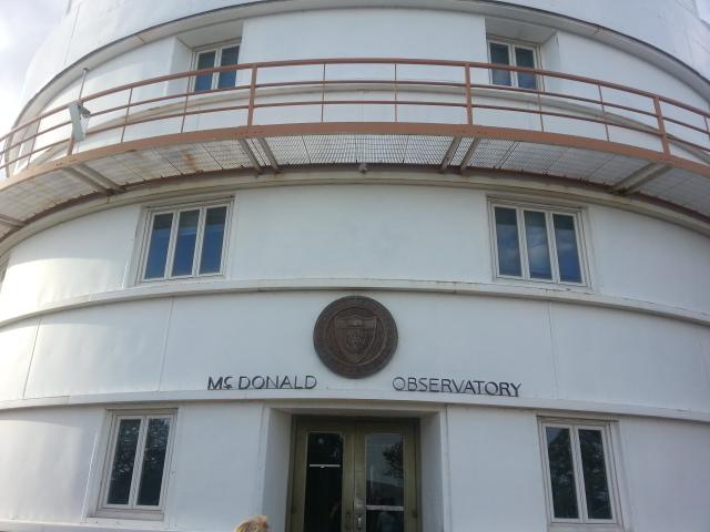 Macdonald Observatory