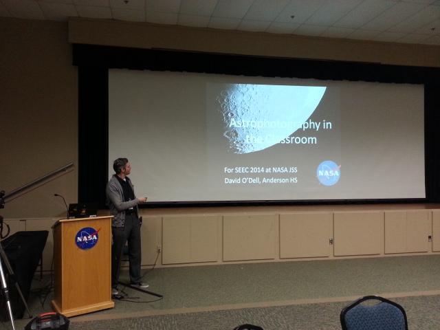 NASA Presentation – Astrophotography in the Classroom